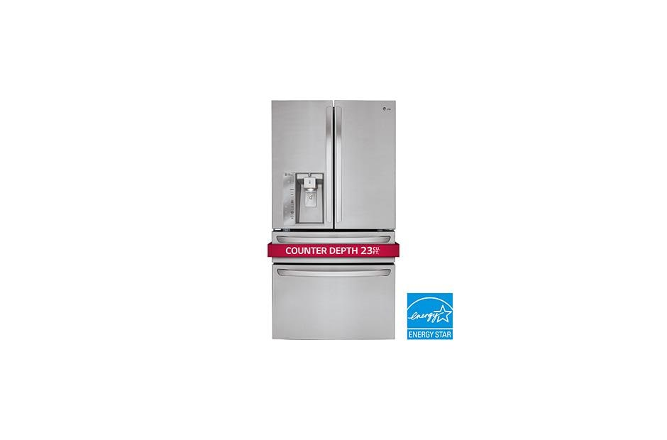 LMXC23746S_medium01 lg lmxc23746s large counter depth french door refrigerator lg usa  at crackthecode.co