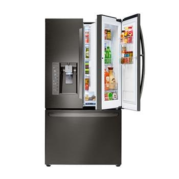 LG Black Stainless Steel 30 cu.ft. Super Capacity French Door Refrigerator  w/
