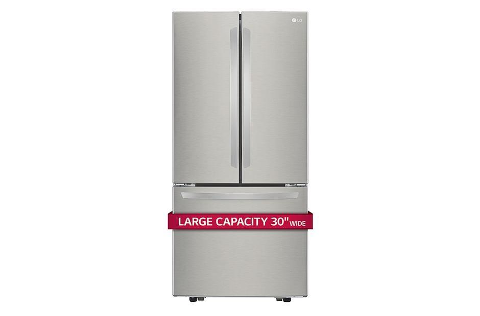 Lg Lfcs22520s 30 Inch Wide 3 Door French Door Refrigerator Lg Usa