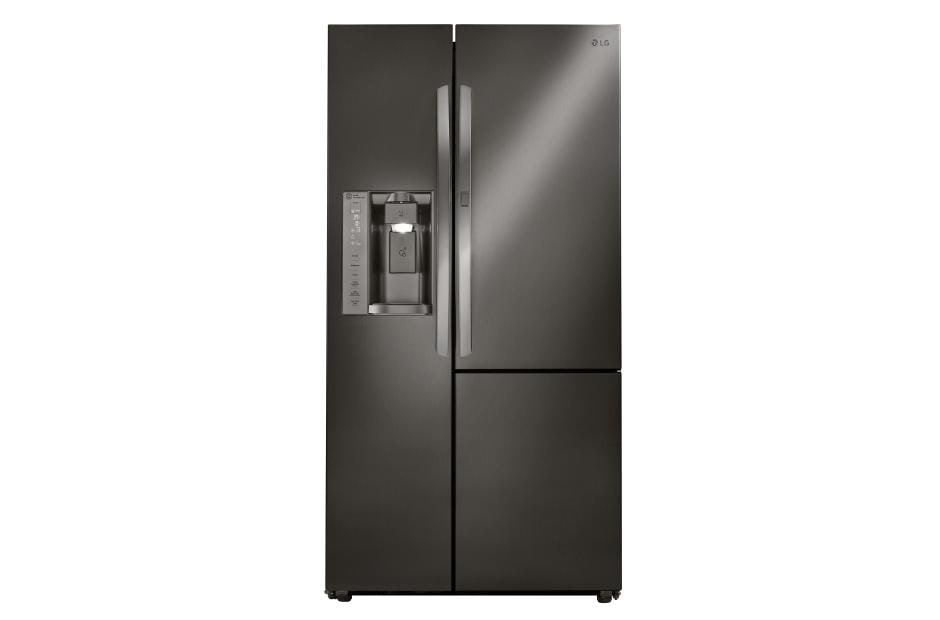 lsxs26366d 26 cu ft side by side refrigerator w door in. Black Bedroom Furniture Sets. Home Design Ideas