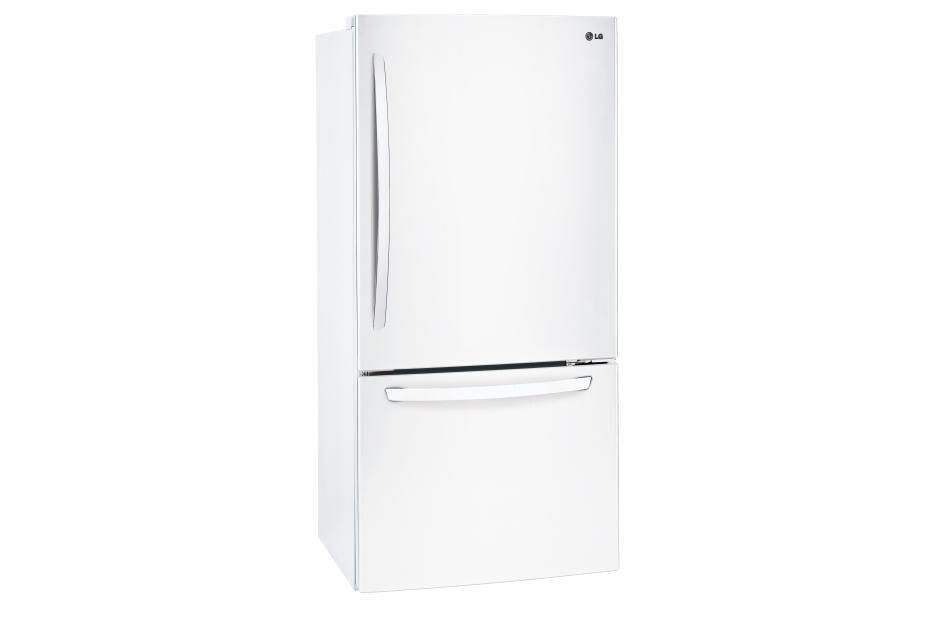LG Refrigerators LDCS24223W 24 Cu. Ft. Bottom Freezer Refrigerator 2