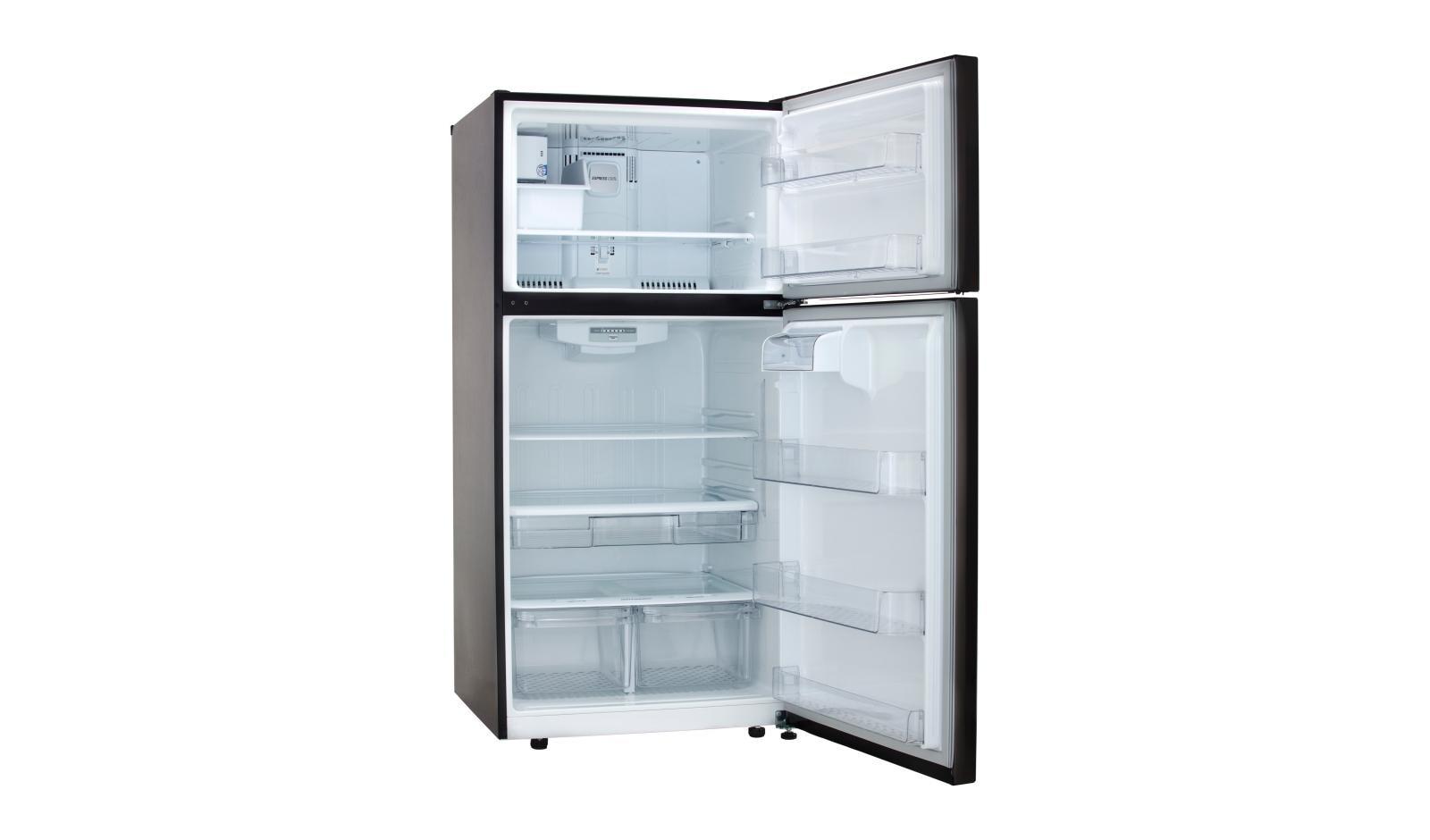 LG LTCS24223D: Black Stainless Steel Top Freezer Refrigerator | LG USA