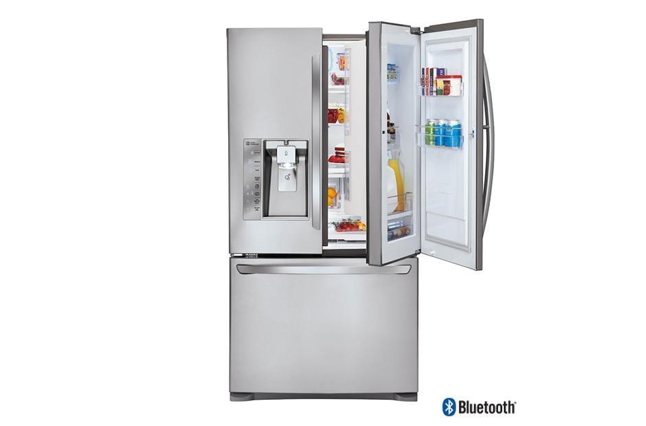 LG LFXS30786S: Door-in-Door Refrigerator w/ Bluetooth ...