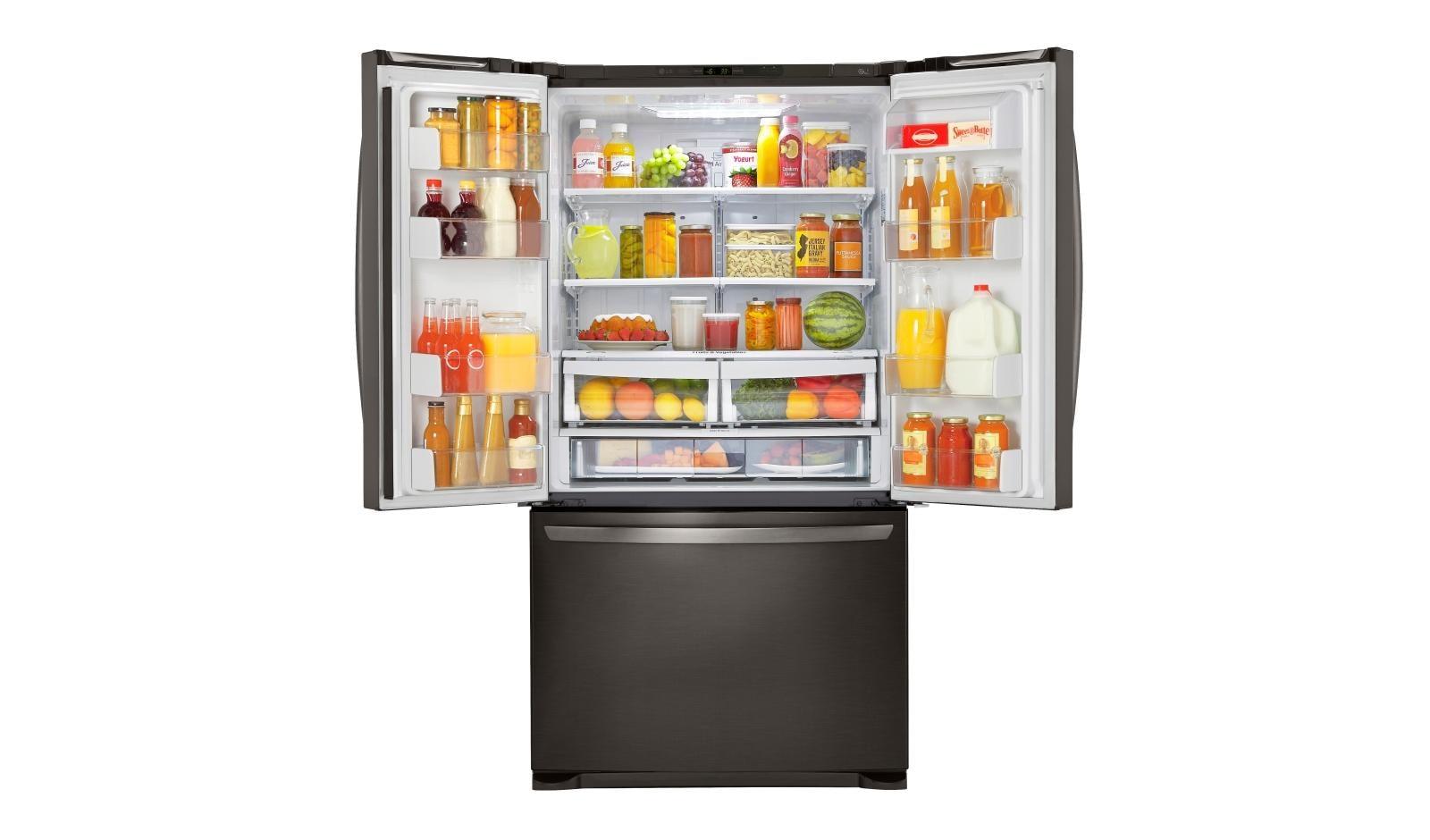 LG LFCS25426D: Mega Capacity 3-Door French Door Refrigerator | LG USA