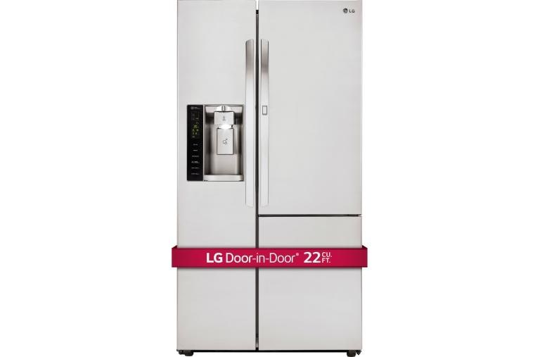 lg lsxc22386s side by side refrigerator w door in door lg usa. Black Bedroom Furniture Sets. Home Design Ideas