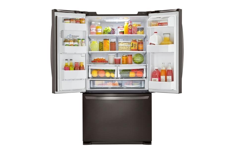 Lg Lfxs24626d Large Capacity 3 Door French Door Refrigerator Lg Usa