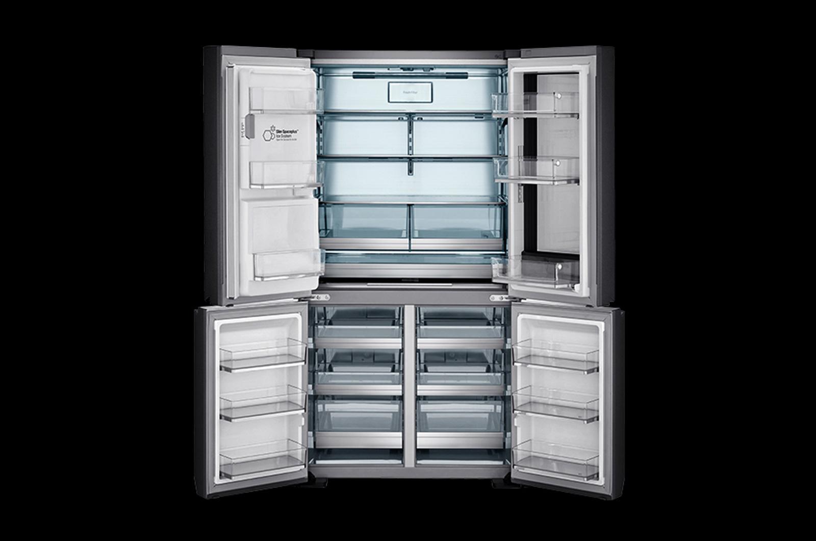 Lg Lupxs3186n Instaview Door In Smart Refrigerator Usa Fridge Alarm Circuit Diagram