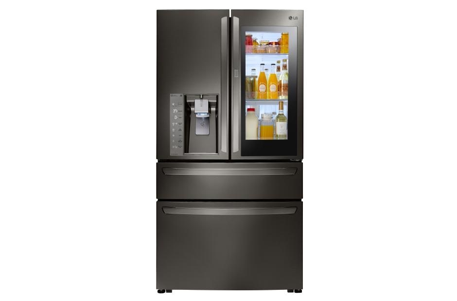 LG Black Stainless Steel Series 23 cu. ft. InstaView™ Door-in-Door® Counter-Depth Refrigerator