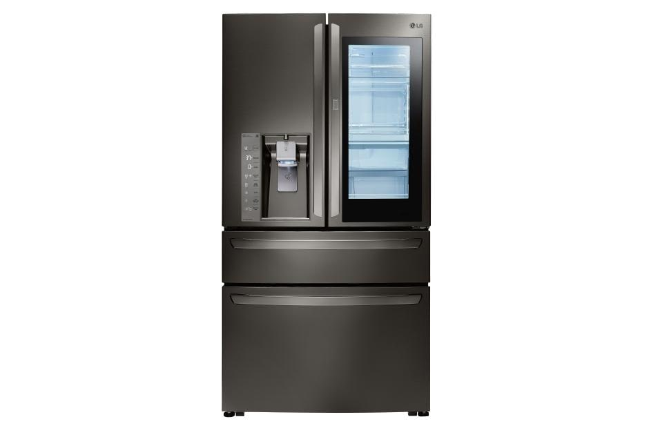 Counter Depth French Door Refrigerator Stainless Steel LG LMXC23796D: 23 cu. ft. Capacity | LG USA