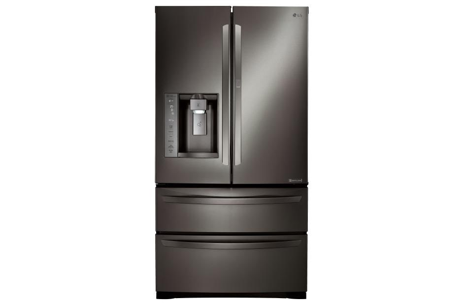 Lg Double Door Bottom Freezer Refrigerator Door Ideas Themiraclez