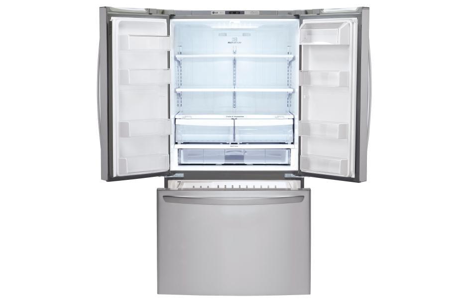 LG LFCS25426S: Mega Capacity 3 Door French Door Refrigerator | LG USA