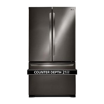 Charmant French Door Counter Depth Refrigerator
