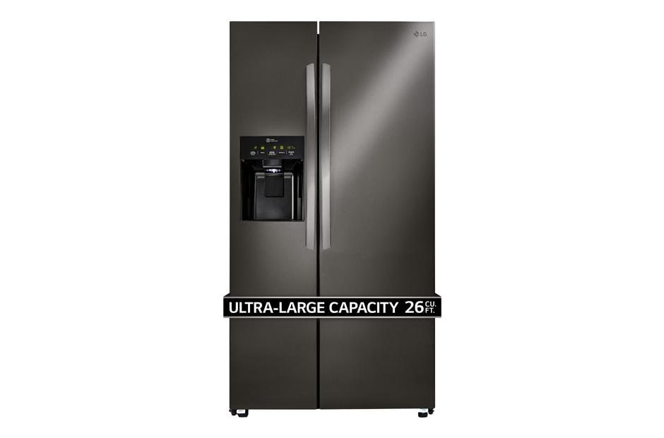 Lg Lsxs26336d Ultra Capacity Side By Side Refrigerator