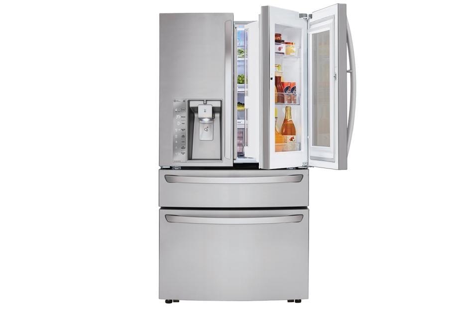 Lg lmxs30796s 30 cu ft instaview door in door refrigerator lg usa lg refrigerators lmxs30796s 1 publicscrutiny Images