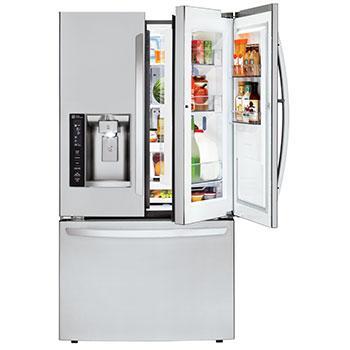 Capacity 3-Door French Door Refrigerator w/ Door-  sc 1 st  LG & LG LFXS27466S: 3-Door Door-in-Door Refrigerator | LG USA pezcame.com