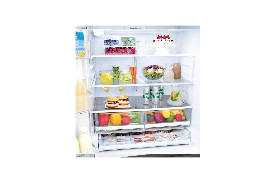 Stainless French Door Refrigerator LG LFXS26973S 26 Cu Ft