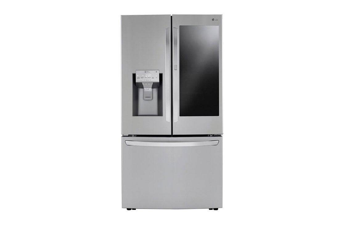Lg 30 Cu Ft Smart Wi Fi Enabled Instaview Door In Door Refrigerator With Craft Ice Maker Lrfvs3006s Lg Usa