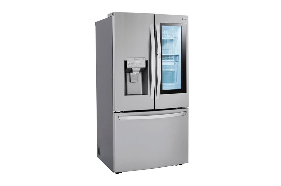 30 cu  ft  Smart wi-fi Enabled InstaView™ Door-in-Door® Refrigerator with  Craft Ice™ Maker