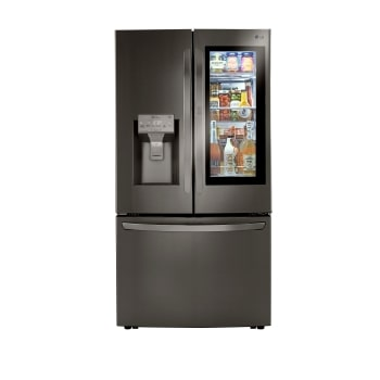 24 cu. ft. Smart wi-fi Enabled InstaView™ Door-in-Door® Counter-Depth Refrigerator with Craft Ice™ Maker1