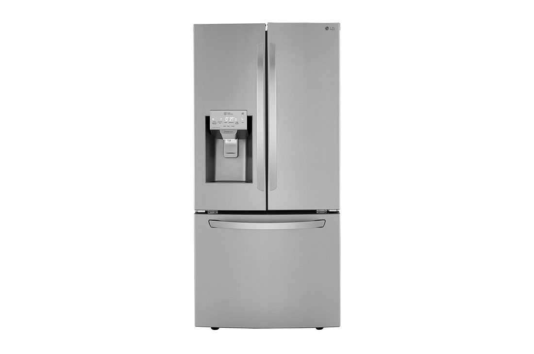 Lg 25 Cu Ft Smart Wi Fi Enabled French Door Refrigerator Lrfxs2503s Lg Usa