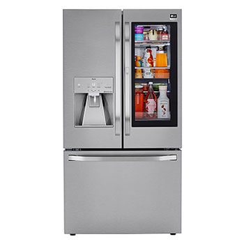 LG STUDIO 24 cu. ft. Smart wi-fi Enabled InstaView™ Door-in-Door® Counter-Depth Refrigerator with Craft Ice™ Maker1