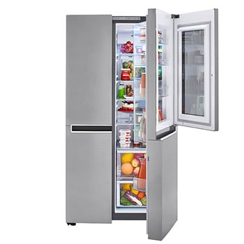 27 cu. ft. Side-By-Side InstaView™ Door-in-Door® Refrigerator 1