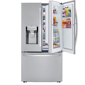 24 cu. ft. Smart wi-fi Enabled Door-in-Door® Counter-Depth Refrigerator with Craft Ice™ Maker1