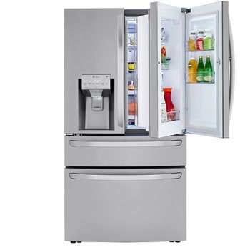 23 cu. ft. Smart wi-fi Enabled Counter-Depth Refrigerator with Craft Ice™ Maker1