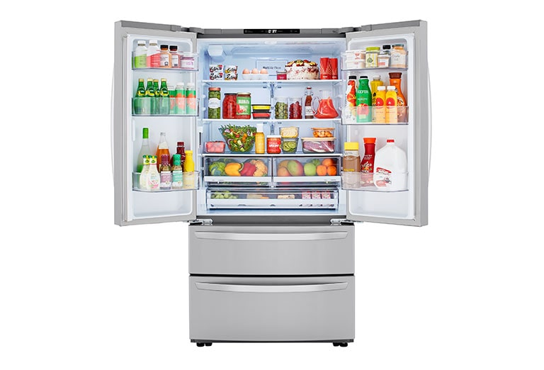 LG LMWC23626S refrigerator interior capacity