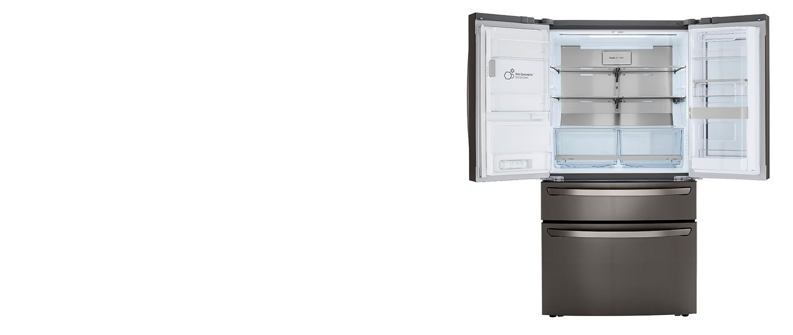 Refrigerator showcasing Counter-depth feature