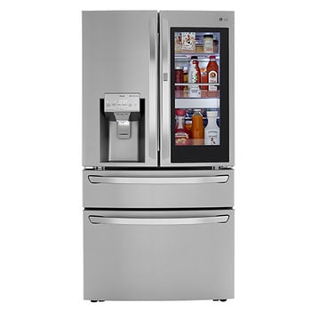 23 cu. ft. Smart wi-fi Enabled InstaView™ Door-in-Door® Counter-Depth Refrigerator with Craft Ice™ Maker1