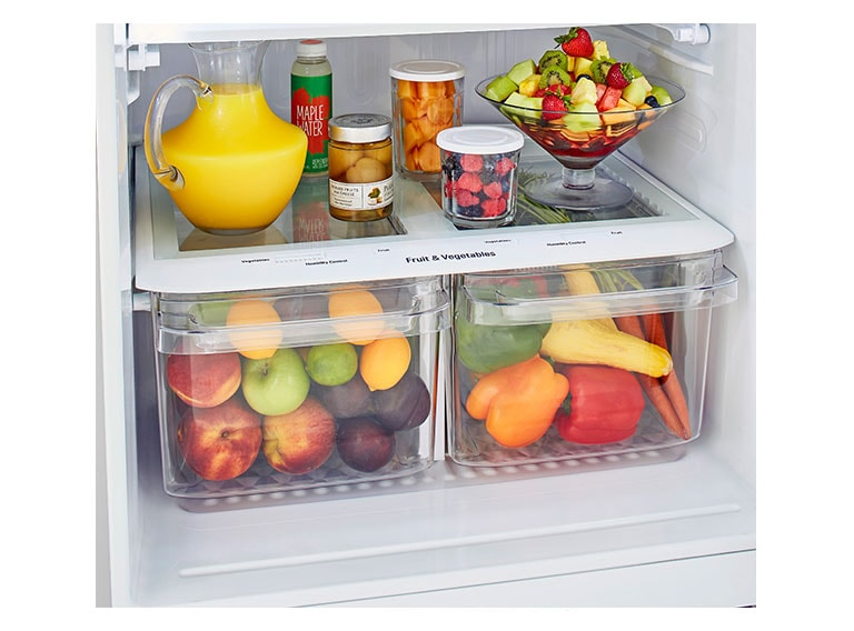 LG LTCS20020W refrigerator styled bins