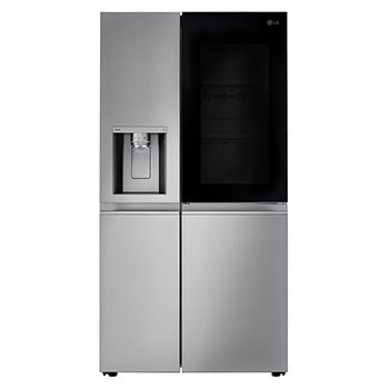 27 cu. ft. Smart wi-fi Enabled InstaView® Door-in-Door® Side-by-Side Refrigerator with Craft Ice™ Maker1