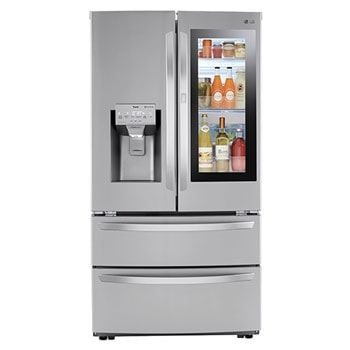 28 cu ft. Smart InstaView® Door-in-Door® Double Freezer Refrigerator with Craft Ice™1