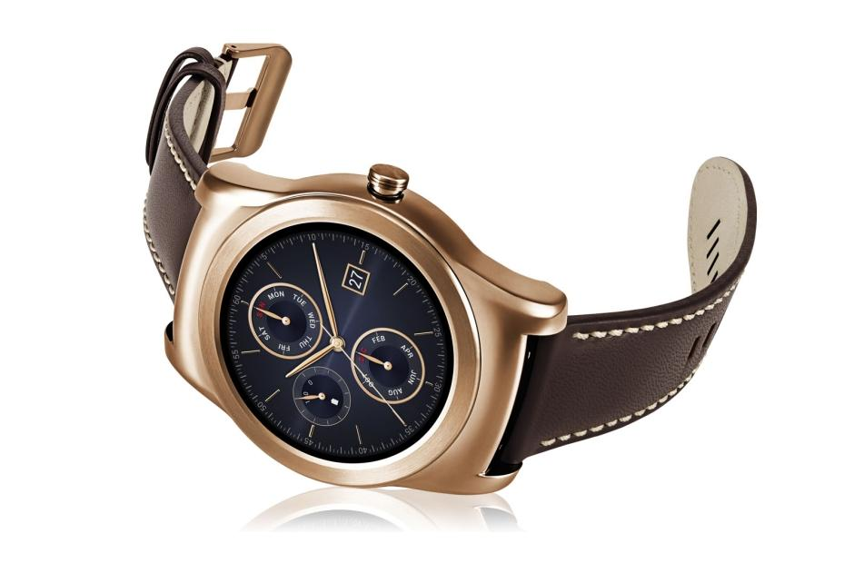 Smart Watches LG Watch Urbane in Gold 1