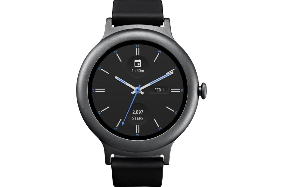 LG Smart Watch Style in Titanium (W270) | LG USA