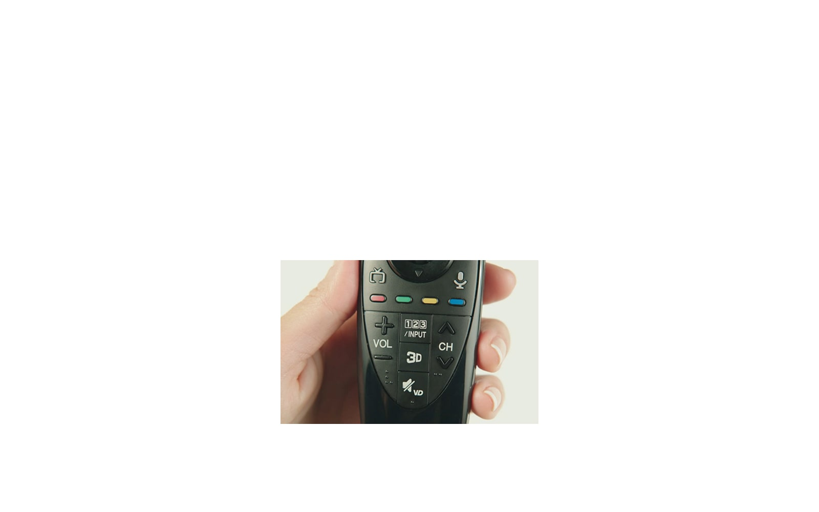 Magic Remote Control with Voice Mate™ for SELECT 2014 Smart TVs