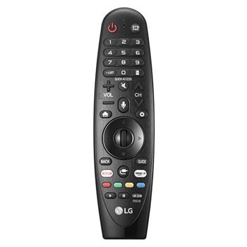 Front view of remote control1