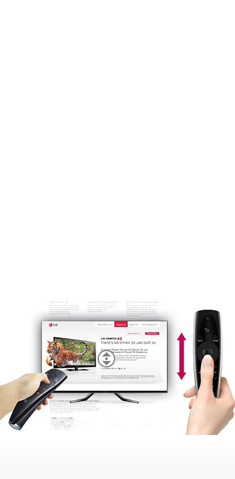 Magic Remote for 2012 Smart TVs