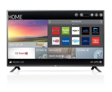 1080p Smart LED TV - 50\ LG 50LF6090: 50 Class (49.5 Diagonal) | USA