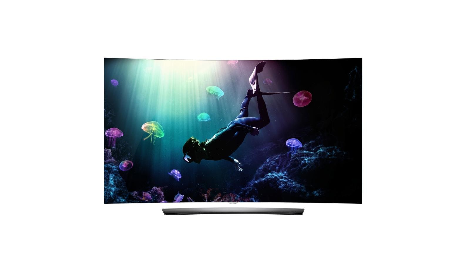 278130657acca C6 Curved OLED 4K HDR Smart TV - 55