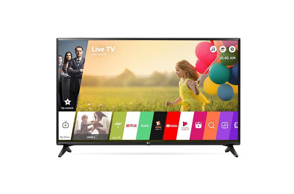 Lg 43lj550m 43 Inch Full Hd 1080p Smart Led Tv Lg Usa