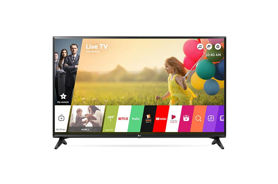 Lg 43lj5500 43 Inch Full Hd 1080p Smart Led Tv Lg Usa