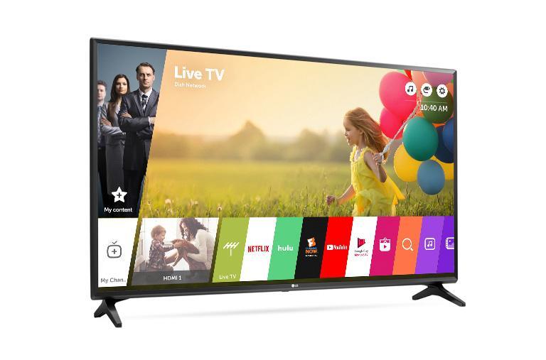 lg 43lj5500 43 inch full hd 1080p smart led tv lg usa. Black Bedroom Furniture Sets. Home Design Ideas