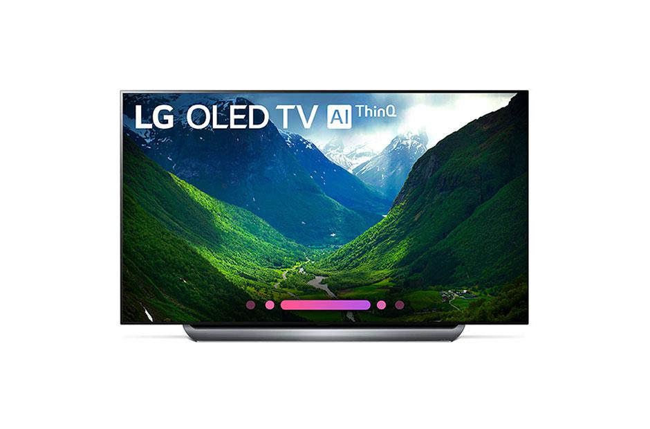 lg oled55c8pua save up to $700 00 for a limited time lg usa  c8pua 4k hdr smart oled tv w ai thinq� 55\
