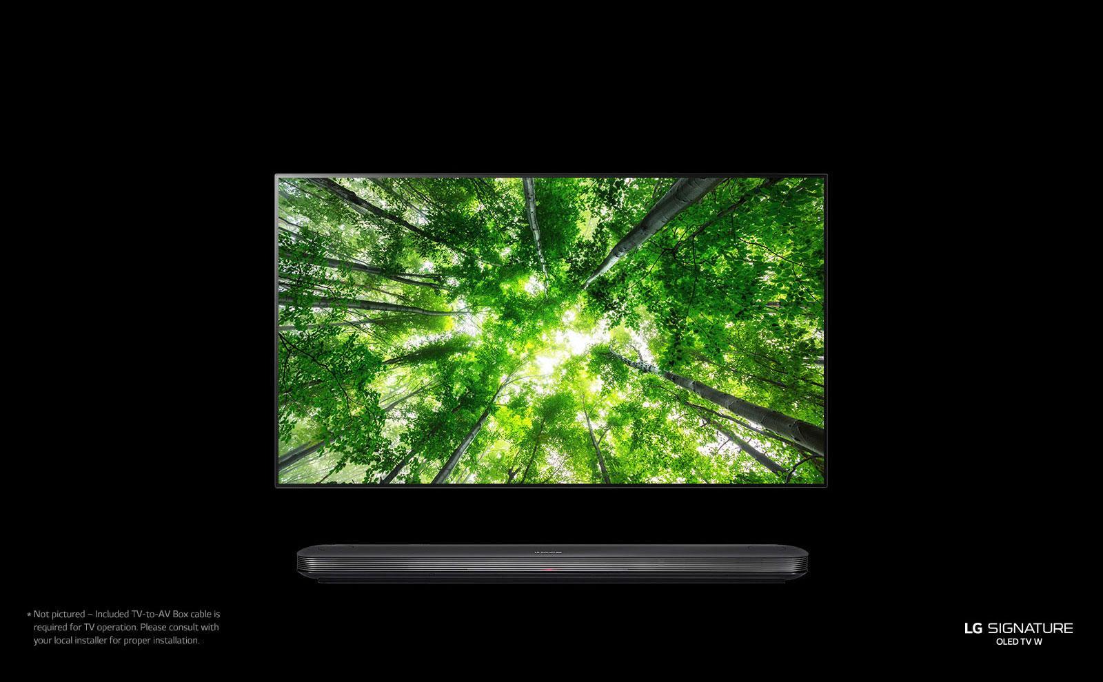 156f3be50aa LG SIGNATURE OLED TV W8 - 4K HDR Smart TV w  AI ThinQ® - 65