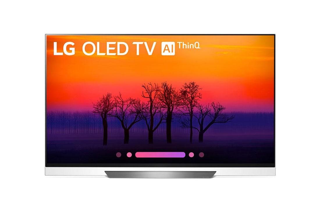E8pua 4k Hdr Smart Oled Tv W Ai Thinq 55 Class 54 6 Diag