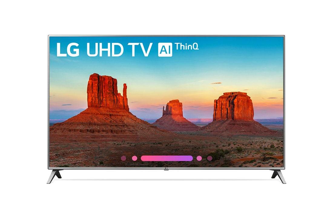 UK6500AUA 4K HDR Smart LED UHD TV w/ AI ThinQ® - 65'' Class (64 5'' Diag)