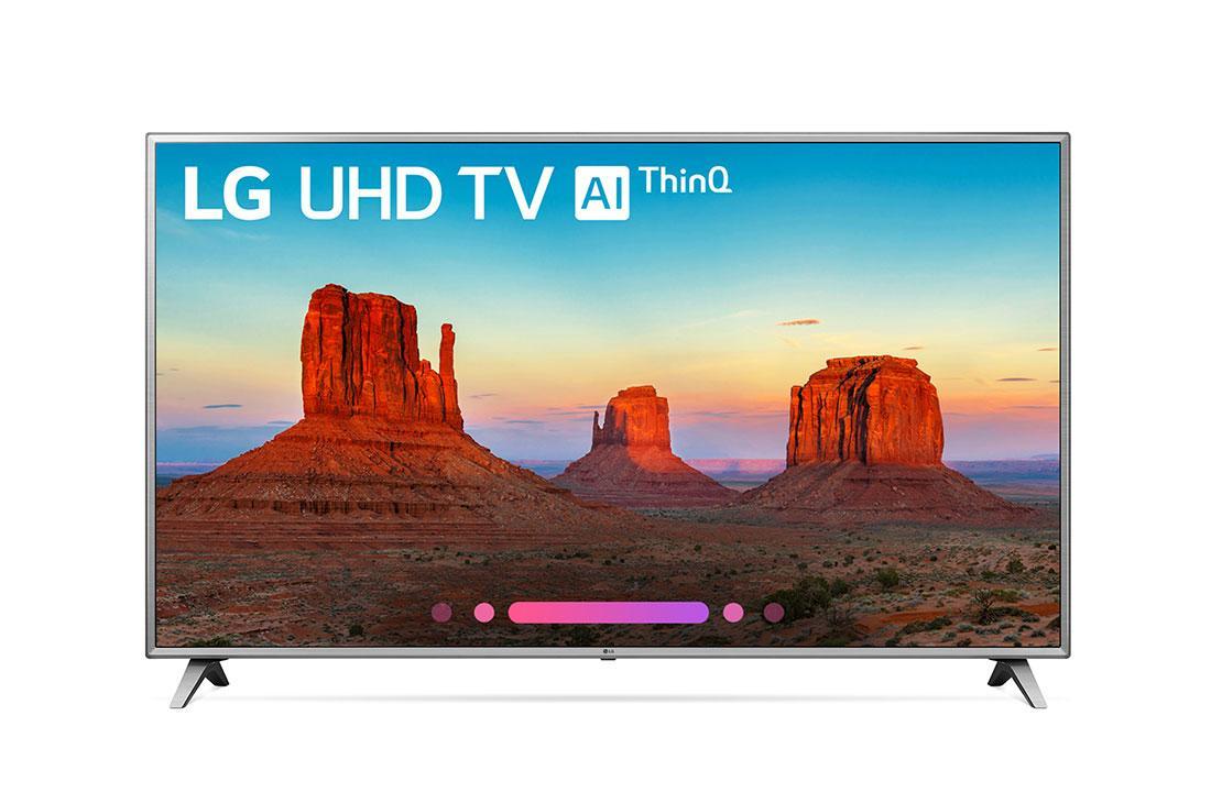 UK6570AUA 4K HDR Smart LED UHD TV w/ AI ThinQ® - 86'' Class (85 6'' Diag)