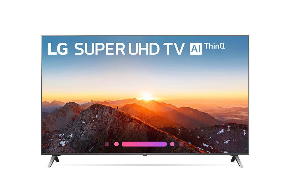 SK8000AUB 4K HDR Smart LED SUPER UHD TV w/ AI ThinQ® - 65'' Class (64 5''  Diag)